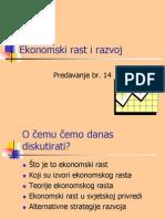 Ekonomski Rast i Razvoj