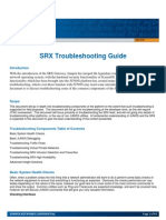 SRX Troubleshooting