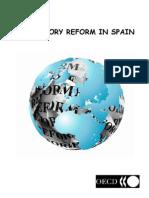 Regulatory Reform in Spain