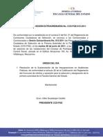 Convocatoria CCS-FISCALIA Sesión extraordinaria No. 015 28-06-11