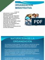 Diapositivas de La Organizacion Administrativa
