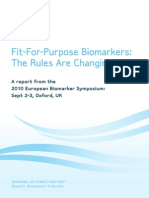 Fit-For-Purpose Biomarkers