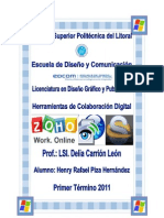 Procesadores de Texto en La Web