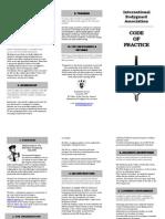 Code of Practice IBA
