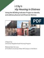Multifamily Distress