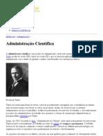 Administração Científica - Princípios - InfoEscola