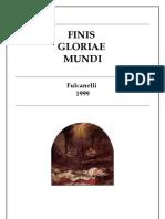 Fulcanelli Finis Gloriae Mundi