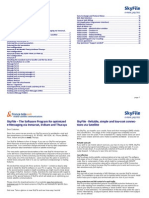 SkyFileV5 Manual Big 20041206 E