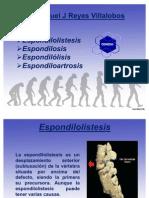 Expo Espondilosis Espondilolistesis Etc