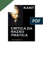 CRÍTICA DA RAZÃO PRÁTICA - Immanuel Kant