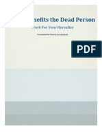 What Benefits the Dead Person [Without Footnotes]