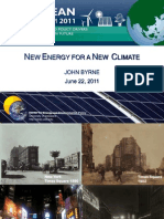 John Byrne - A New Energy Strategy for a New Climate