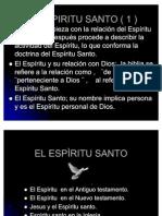 La obra del ESPIRITU SANTO Creacion Version 2 Ppt