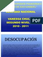 Ocupacion Sobocupacion y Desocupacion