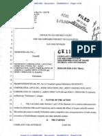 MedioStream v. Microsoft et al. Complaint