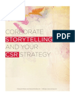 Corporate Storytelling and your CSR Strategy