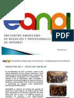 Presentacion Encuentro Americano de Negocios y Profesionales de Internet 2011