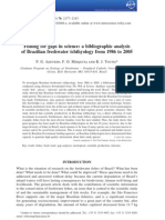 Fishing for Gaps in Science a Bibliographic Analysis
