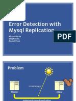 Database Scrubber Mysql Conference