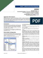AN2094- PSoC® 1 GPIO Pin-Port Reconfiguration