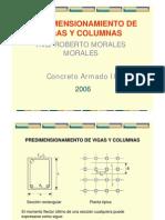 Pre Dimension a Mien To 2006 - Ing. Roberto Morales