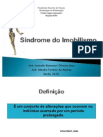 Síndrome do Imobilismo