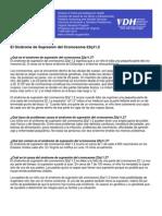 22q11 Deletion Syndrome Spanish