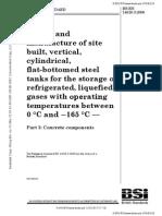 BS EN 14620-3-2006 Part 3 Concrete Components