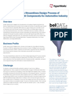HyperShape/CATIA Streamlines Design Process of Functional and Light Components for Automotive Industry