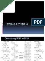 Protein Synthesis Presentation