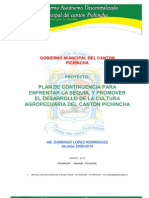 Perfil Ejecutivo Proyecto Sequia