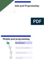 Module Pool Programming