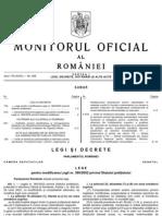MOf Cu Legea Nr 133 Din 2011 de Modificare a Statutului Politistului Si OMAI Nr 129 Din 2011 Privin Procedura de Desf a Examenului Pentru Departajare a Personalului CA Urmare a Aplicarii Masurilor de Reorganizare La Nivelul MAI