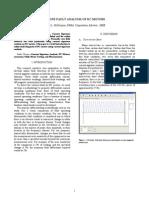 Online Fault Analysis of DC Motors
