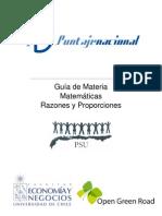 Guía 02 - Razones y Proporciones