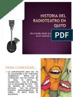 Historia Del Radioteatro en Quito