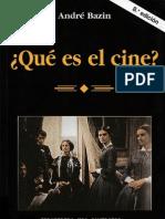 Que Es El Cine_ Bazin