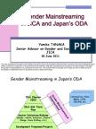 Gender Mainstreaming in JICA and Japan's ODA
