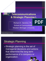 Strategic Planning I