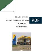 Elaborarea Strategiei de Distributie La Petrom