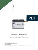 M100evo Quick Start Guide User Manual Rev02 3