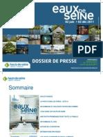 Eaux de Seine - Dossier de Presse