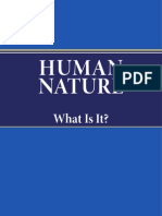 Human Nature What is it?