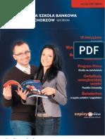 Informator 2011 - Studia podyplomowe - Wyższa Szkoła Bankowa Poznaniu Wydział Zamiejscowy w Chorzowie