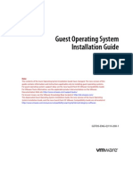 VMWARE Installation Guide.