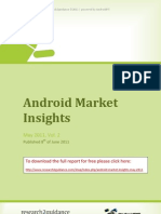 Android Market Insights May 2011