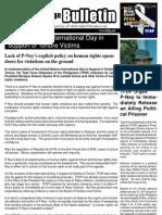 TFDP Campaign Bulletin June 2011