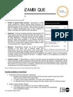 Mozambique Factsheet