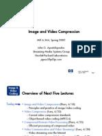 Lecture1 Image Video Compression