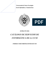 Catlogo Servicios Inform Tic A - Normas de Uso